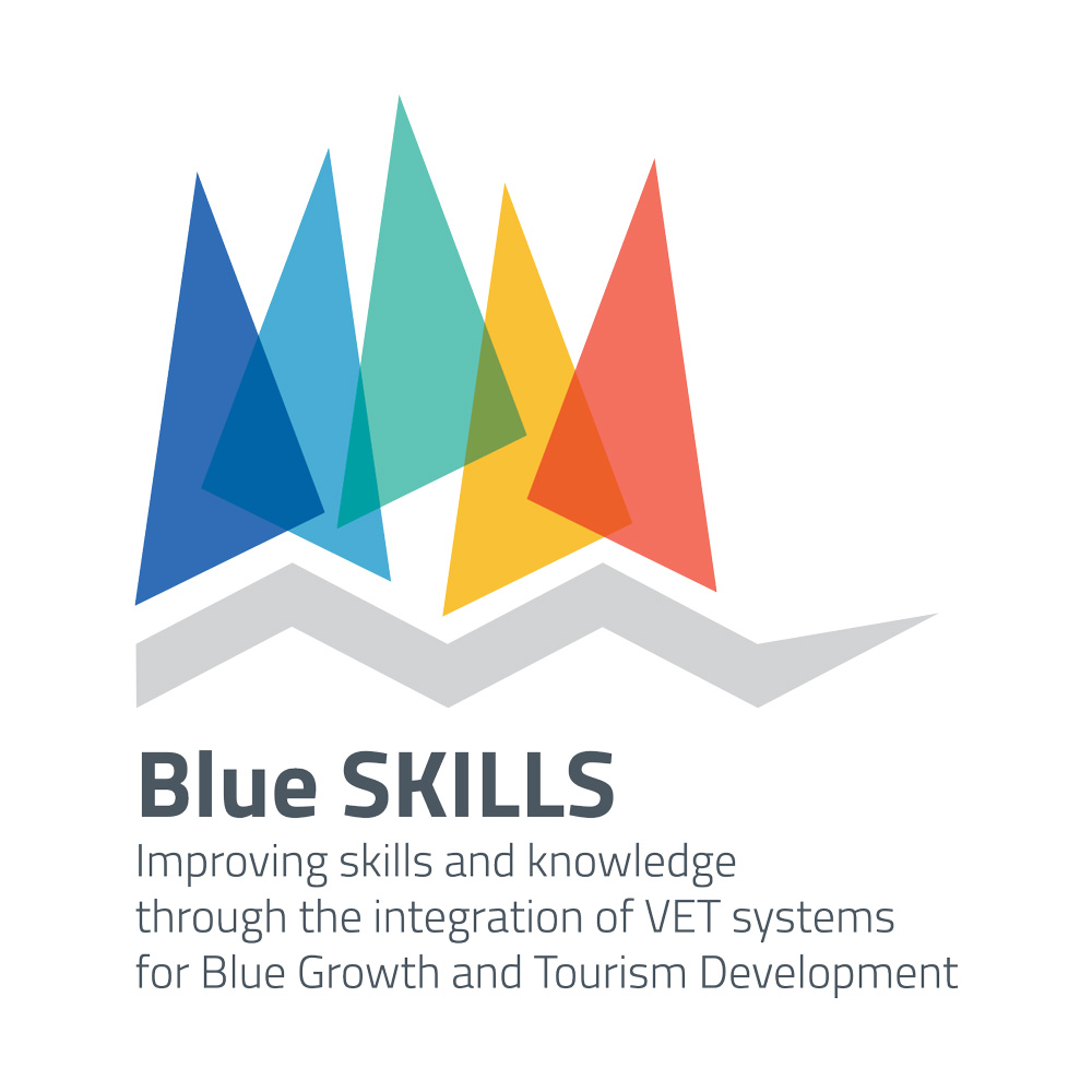 Progetto BLUE SKILLS Improving skills and knowledge through the integration of VET systems for Blue Growth and Tourism Development
